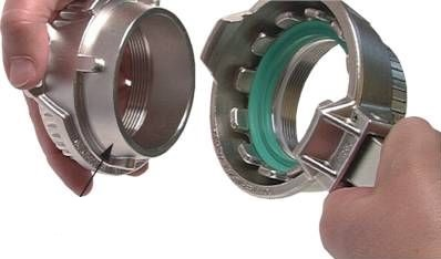 TW Tank truck coupling
