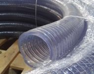 BRT PVC hose with metal spiral
